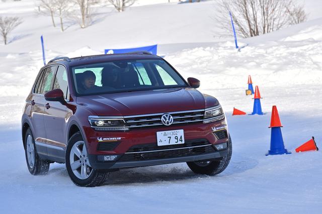 画像8: 雪上で試す4MOTION
