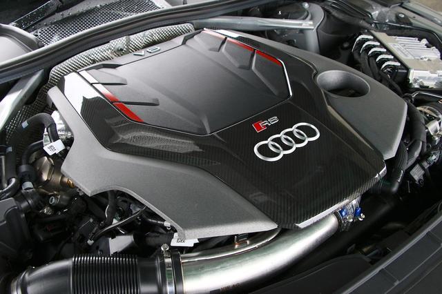 画像2: 【ミニ試乗記】Audi RS 4 Avant
