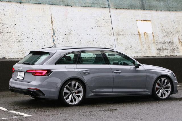 画像3: 【ミニ試乗記】Audi RS 4 Avant