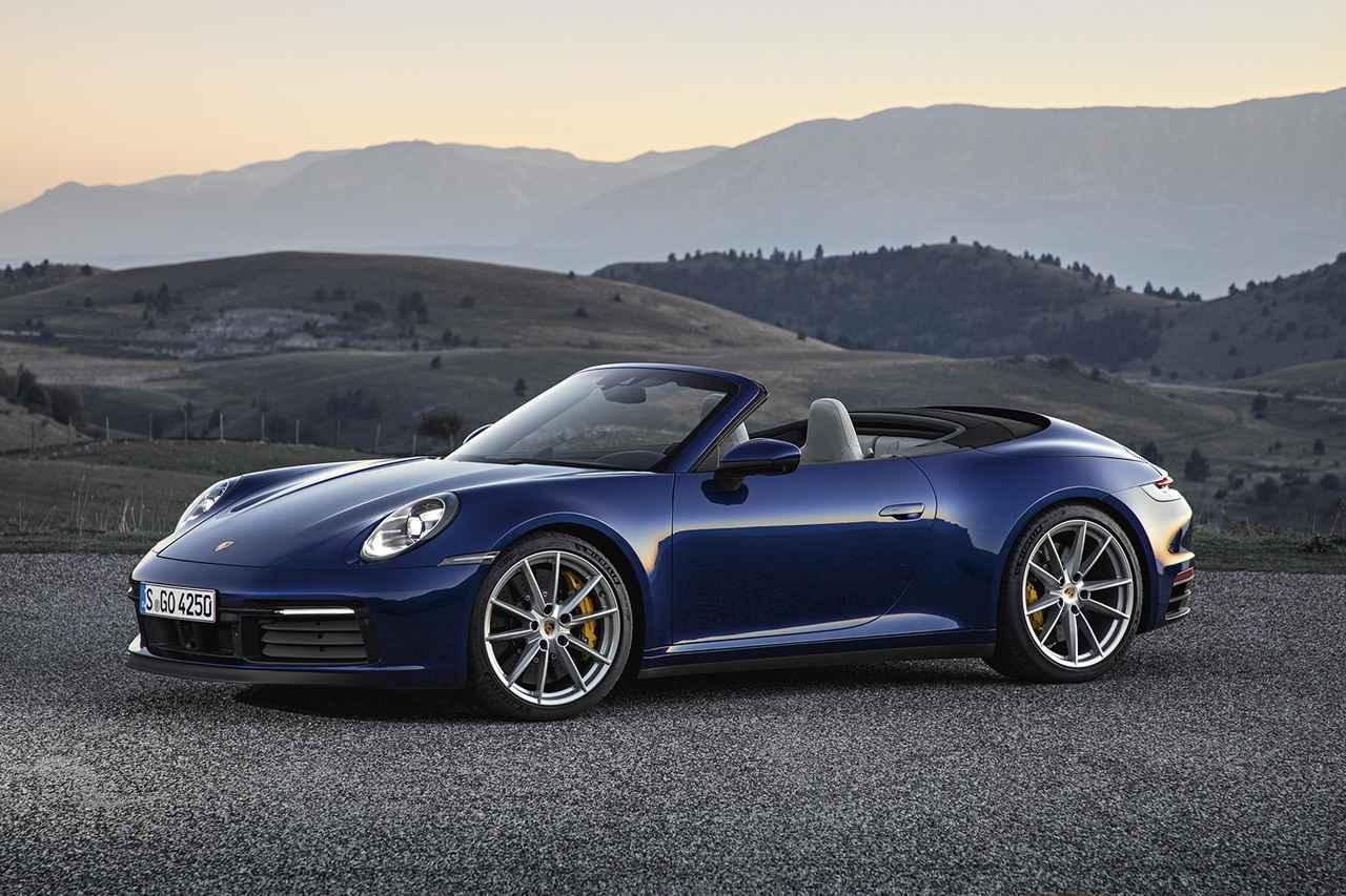 画像: 新型「911カブリオレ」がデビュー - 8speed.net VW、Audi、Porscheがもっと楽しくなる自動車情報サイト