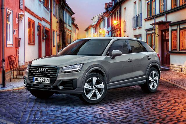 画像1: 限定車「Audi Q2 #black styling」登場