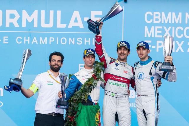 画像1: 【Formula E Rd.4 Mexico City】ルーカス・ディ グラッシが今季初勝利