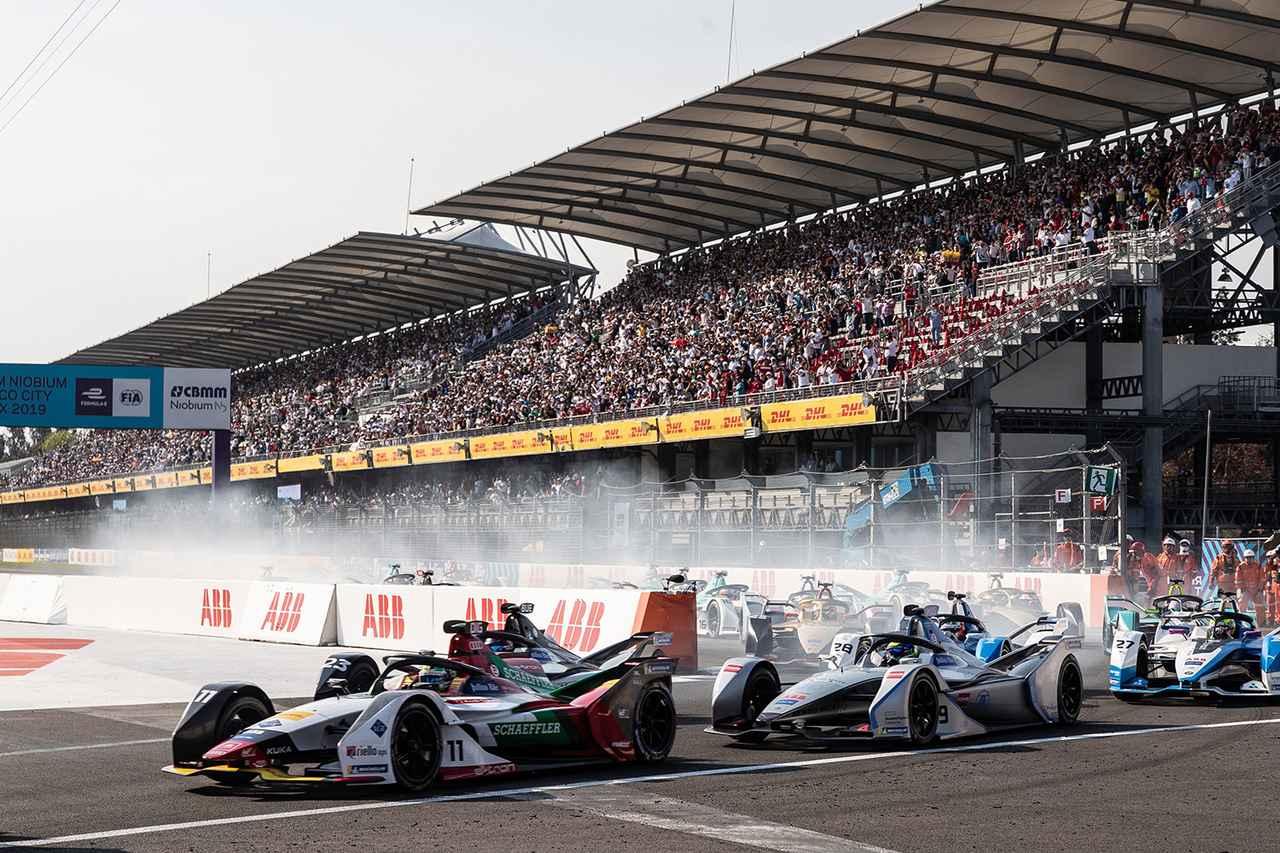 画像3: 【Formula E Rd.4 Mexico City】ルーカス・ディ グラッシが今季初勝利