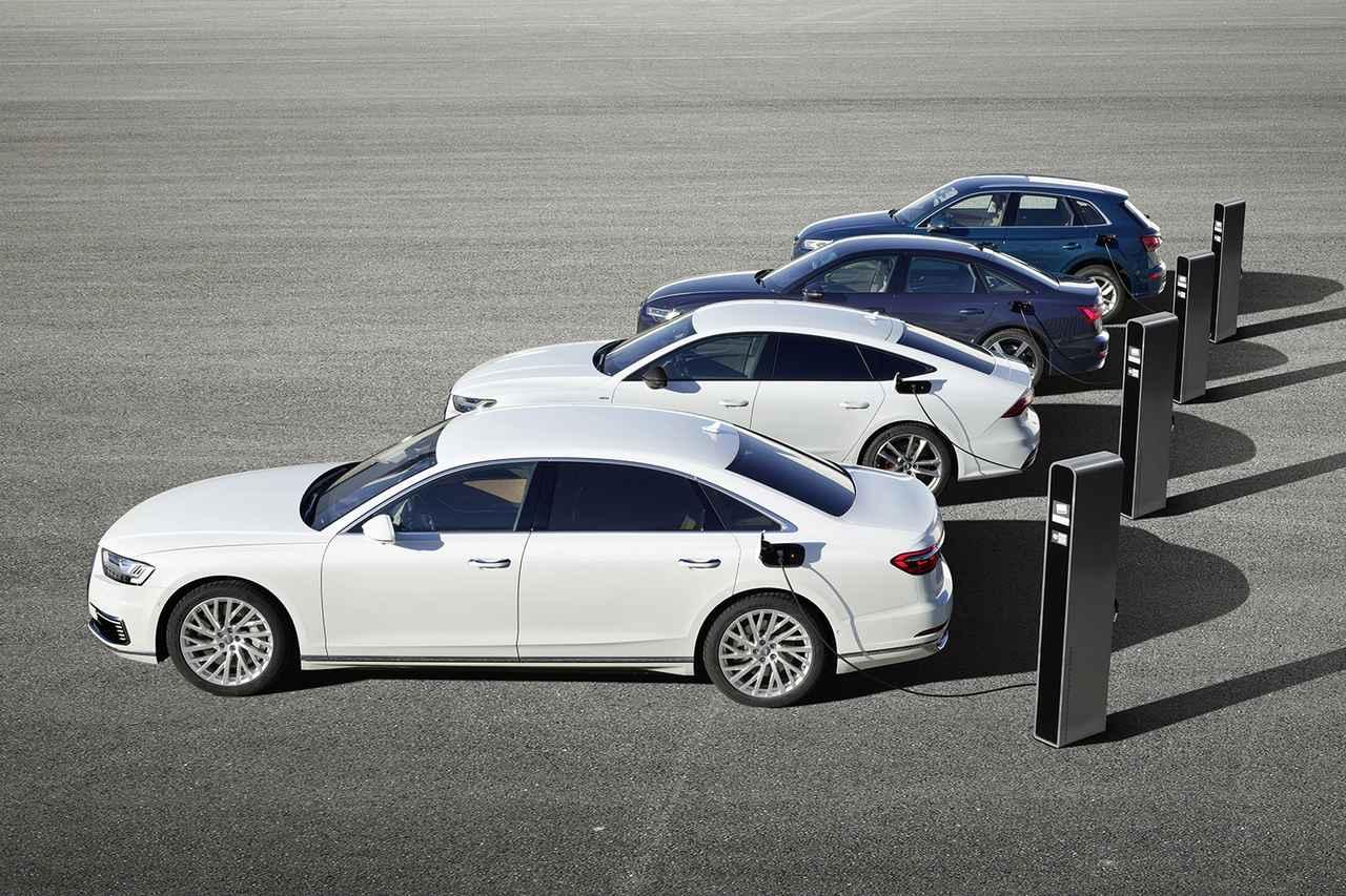 画像2: Audiがジュネーブショーでプラグインハイブリッド4モデルを発表