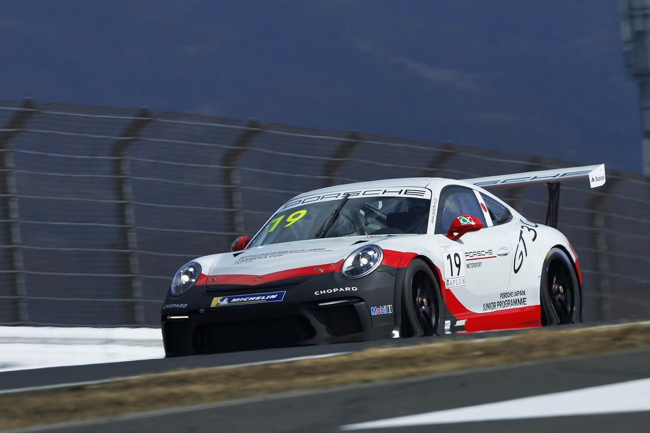 画像2: ポルシェジャパンジュニアドライバーに笹原右京選手