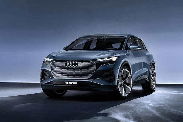 画像1: 「Audi Q4 e-tron concept」がワールドプレミア