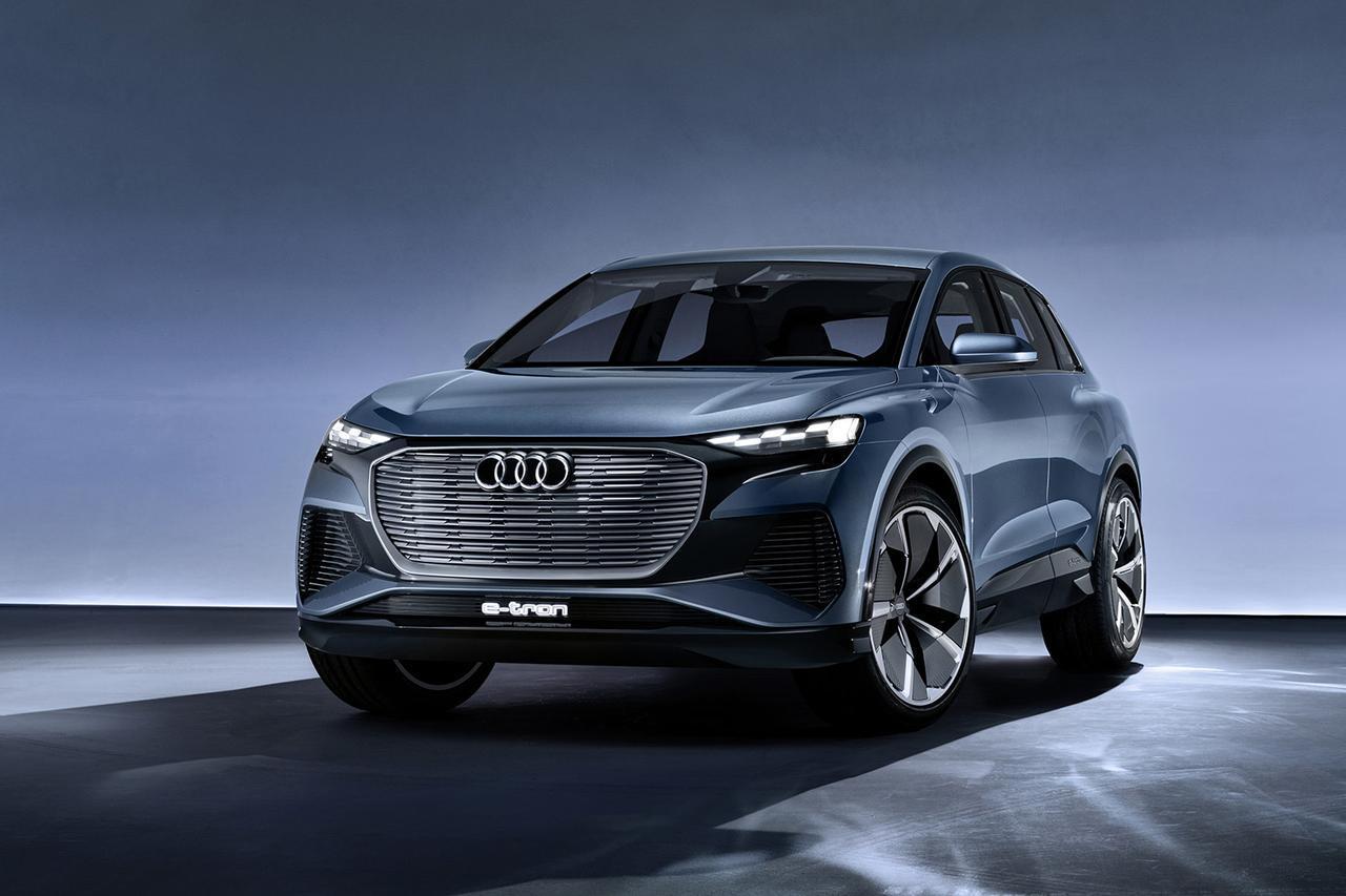 画像: 「Audi Q4 e-tron concept」がワールドプレミア - 8speed.net VW、Audi、Porscheがもっと楽しくなる自動車情報サイト