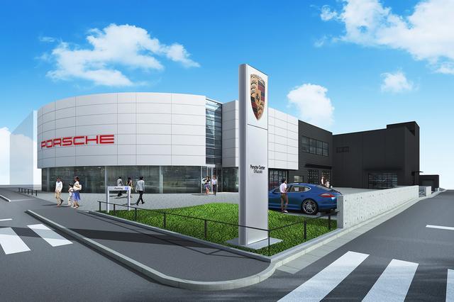 画像1: ポルシェセンター岡崎が2019年4月3日にオープン