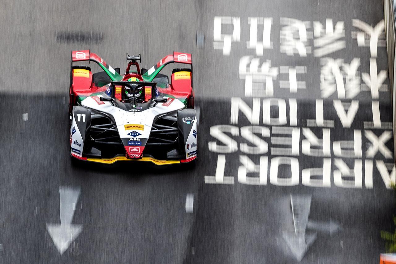 画像3: 【Formula E Rd.5 Hong Kong】ルーカス・ディ グラッシが2位表彰台