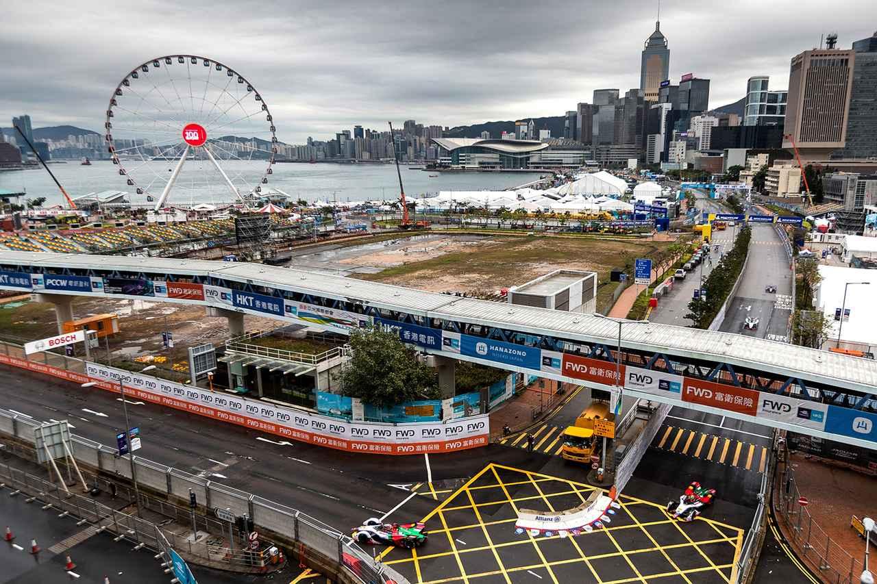 画像4: 【Formula E Rd.5 Hong Kong】ルーカス・ディ グラッシが2位表彰台