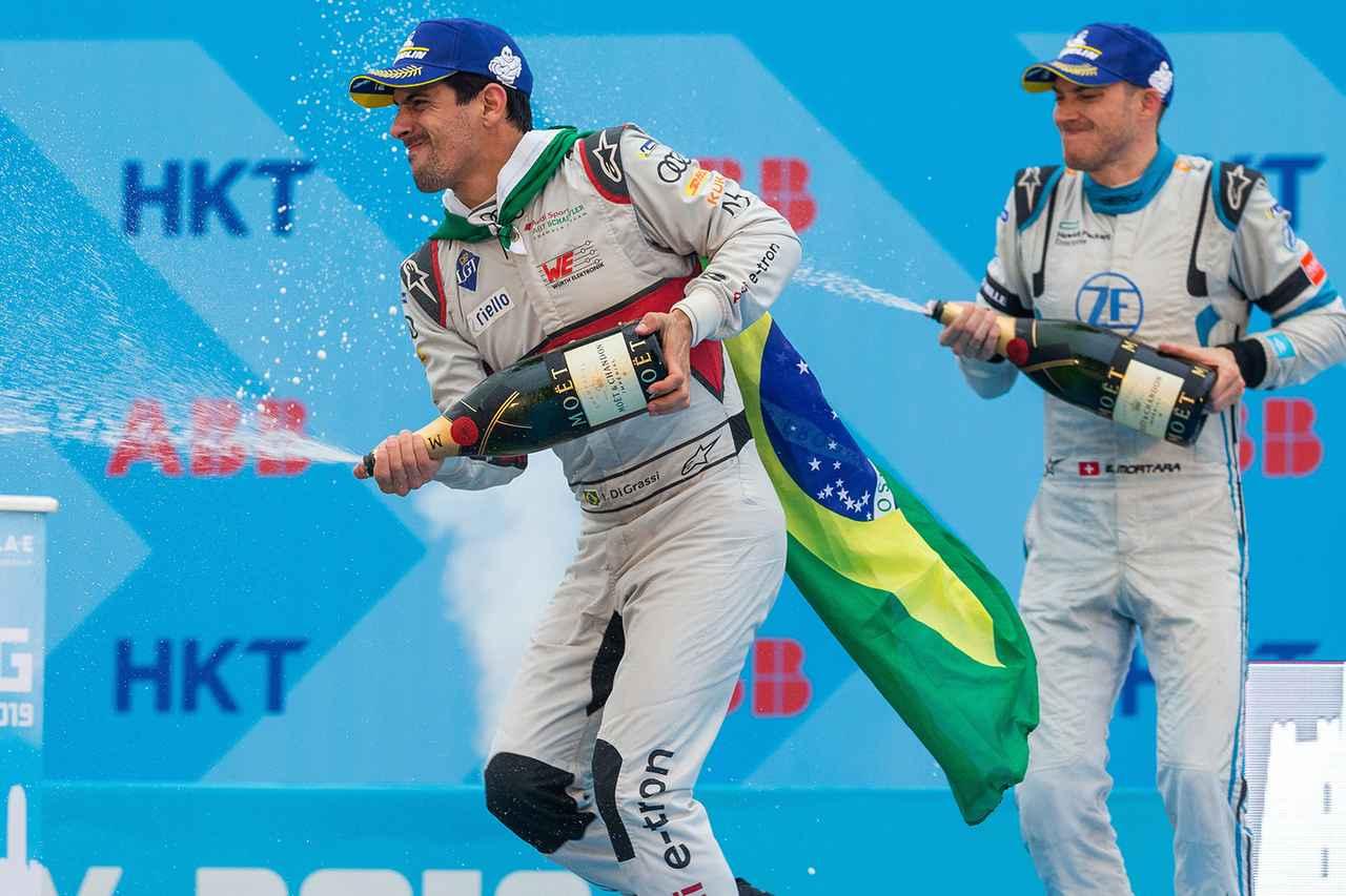 画像1: 【Formula E Rd.5 Hong Kong】ルーカス・ディ グラッシが2位表彰台