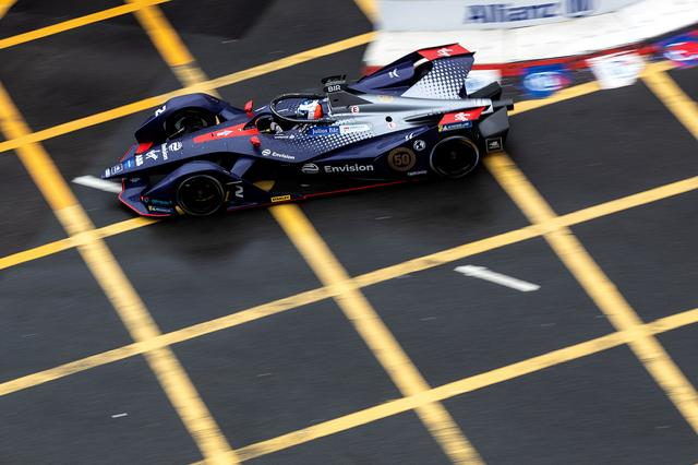画像2: 【Formula E Rd.5 Hong Kong】ルーカス・ディ グラッシが2位表彰台