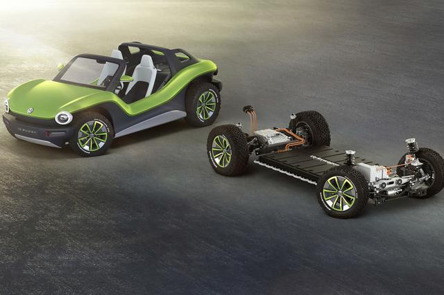 画像: VWグループが電動化を加速