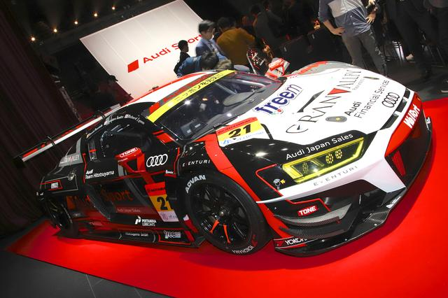 画像: Audi Team Hitotsuyamaはフェイスリフトしたニューマシーンを投入。