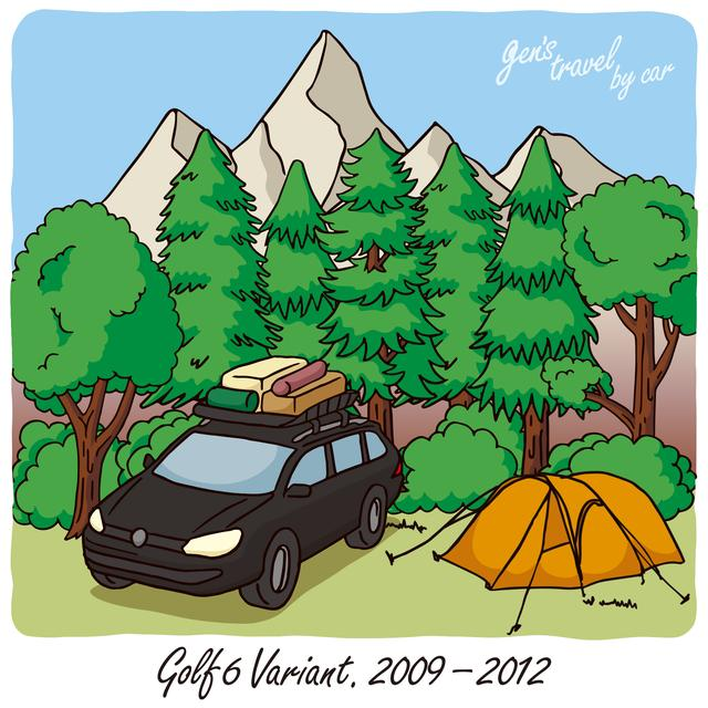 画像: 【gen's travel by car】Golf 6 Variant