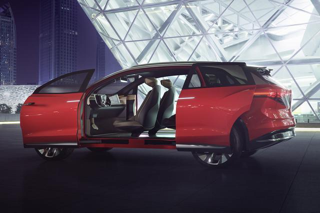 画像2: VWが上海モーターショーで「ID. ROOMZZ」をワールドプレミア