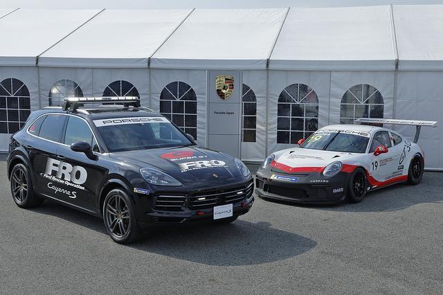 画像2: 「カイエンS」がSUPER GTのFRO車両に