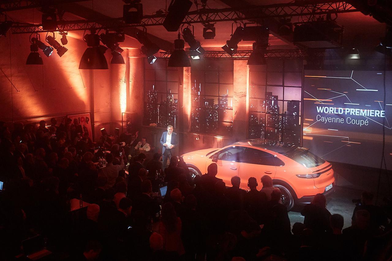 画像: 「カイエンクーペ」がワールドプレミア - 8speed.net VW、Audi、Porscheがもっと楽しくなる自動車情報サイト