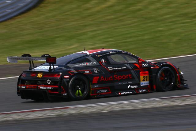画像2: 【SUPER GT Rd.2 Fuji】Hitotsuyama Audi R8 LMSがトラブルを撥ねのけ今季初入賞
