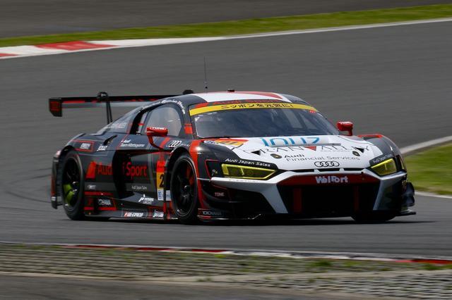 画像1: 【SUPER GT Rd.2 Fuji】Hitotsuyama Audi R8 LMSがトラブルを撥ねのけ今季初入賞