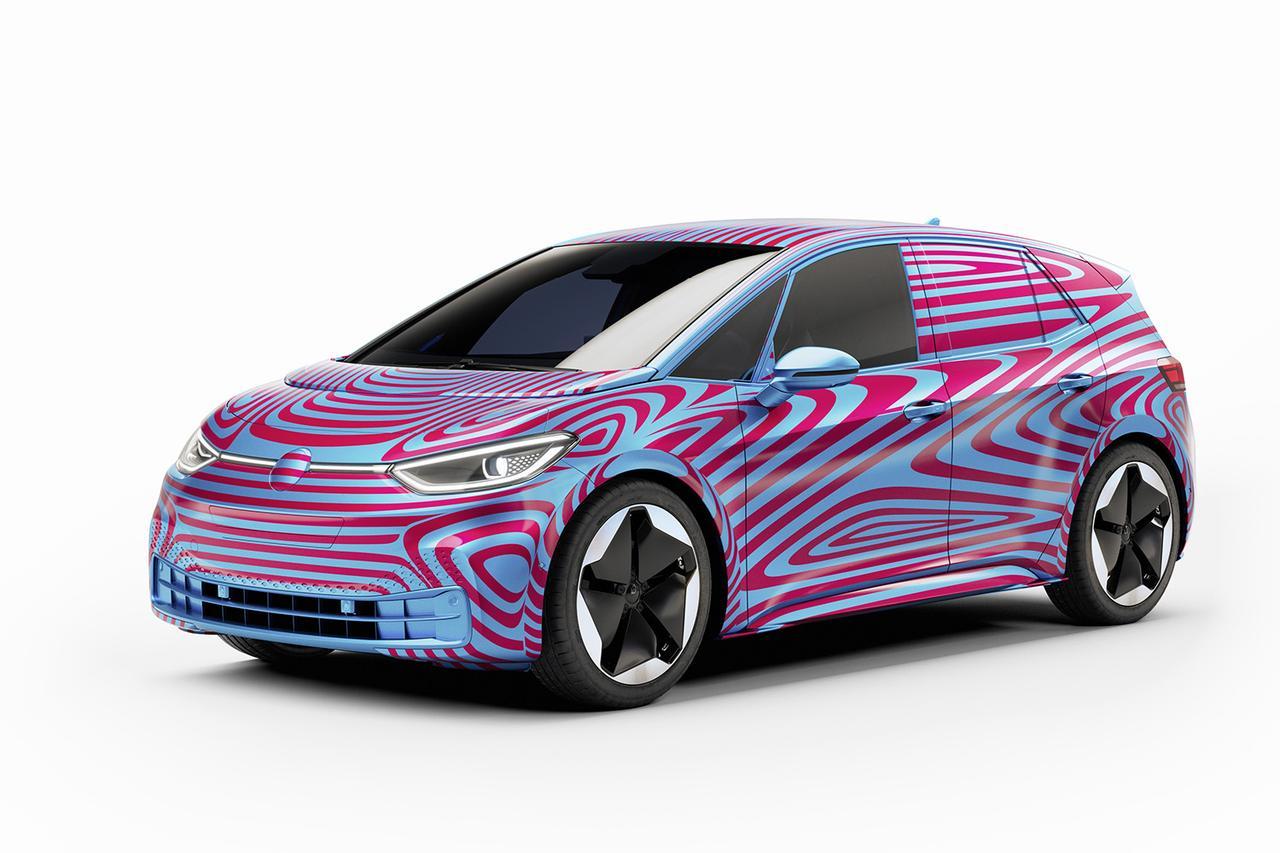 画像2: VWの新EVの名前が「ID.3」に決定 ヨーロッパでは予約注文開始