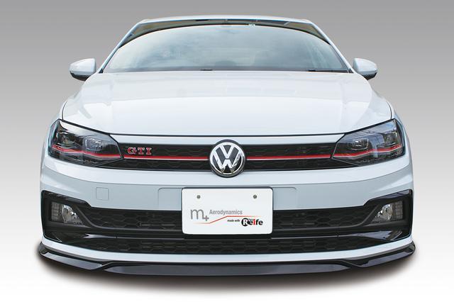 画像3: 【GARAGE VARY】ポロ(AW1)GTI用フロントリップスポイラーを発売