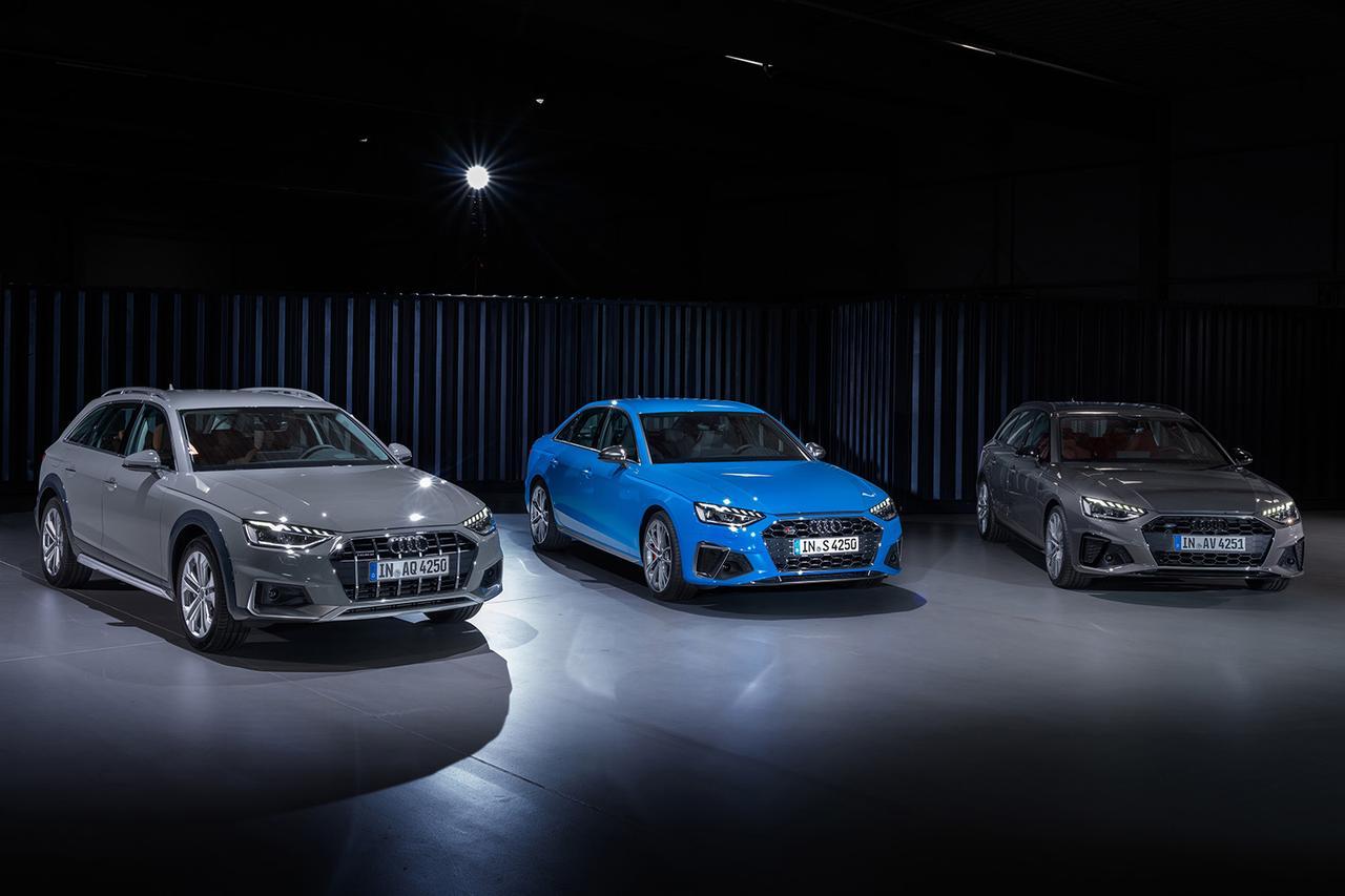 画像1: Audi A4シリーズがマイナーチェンジ