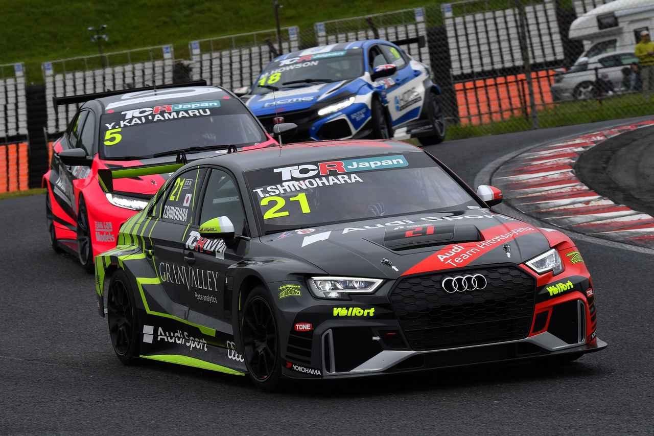 画像7: 【TCRJ Rd.1 AUTOPOLIS】Audi RS 3とVW Golfが表彰台