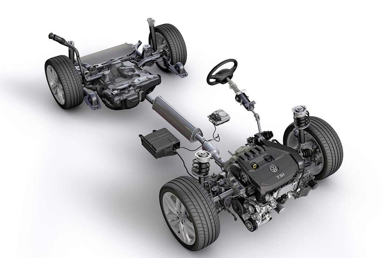 画像: ゴルフ8に採用のマイルドハイブリッドシステムを発表