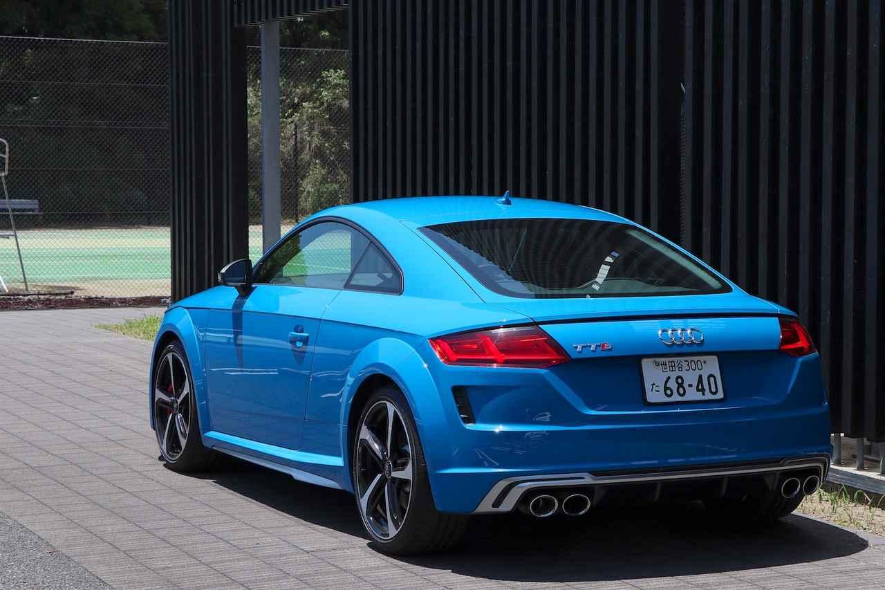 画像3: 【ミニ試乗記】Audi TTS Coupe