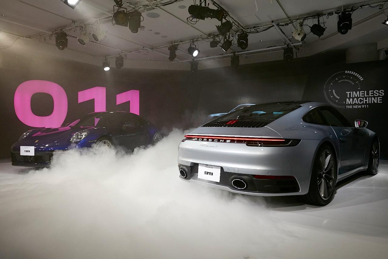画像1: 新型「911」がジャパンプレミア