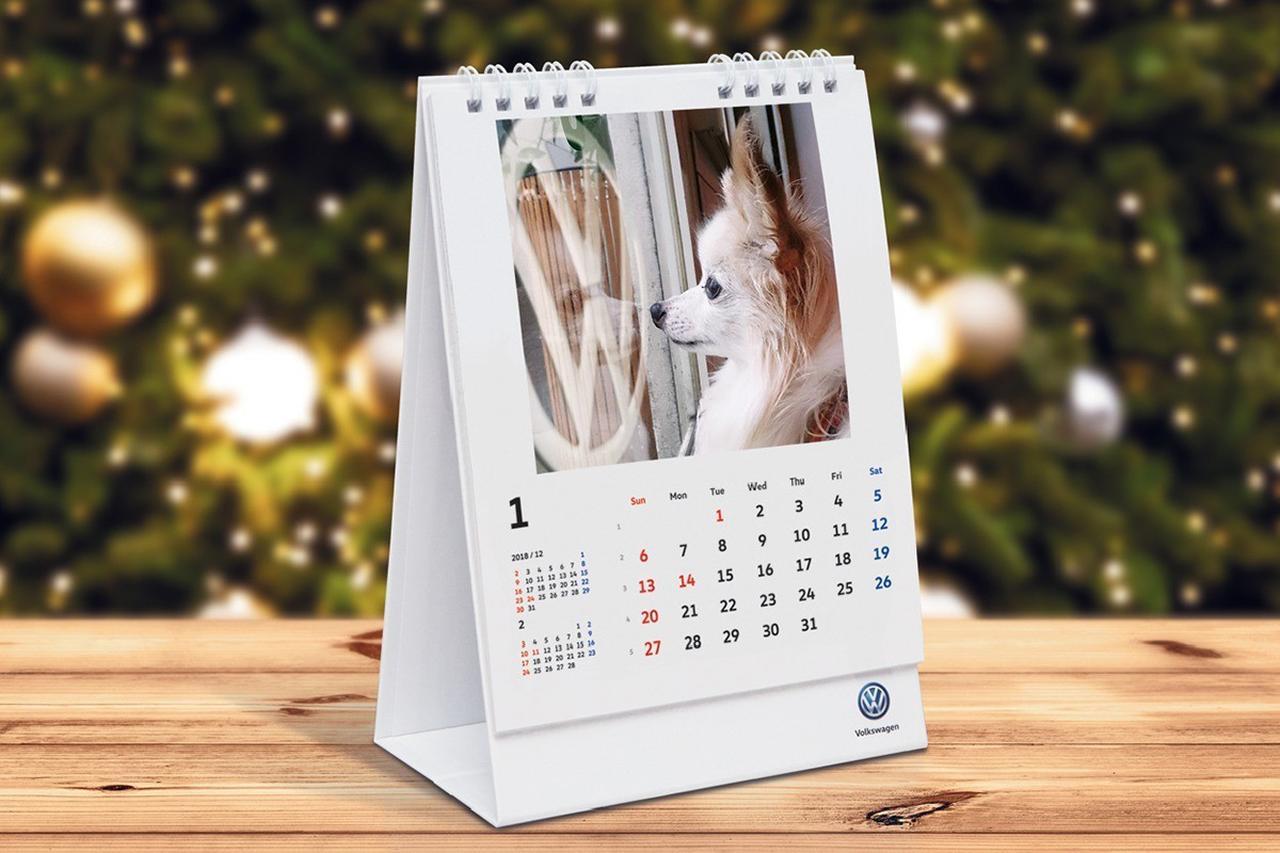 画像: Volkswagen Logo Photo Calendar 2018