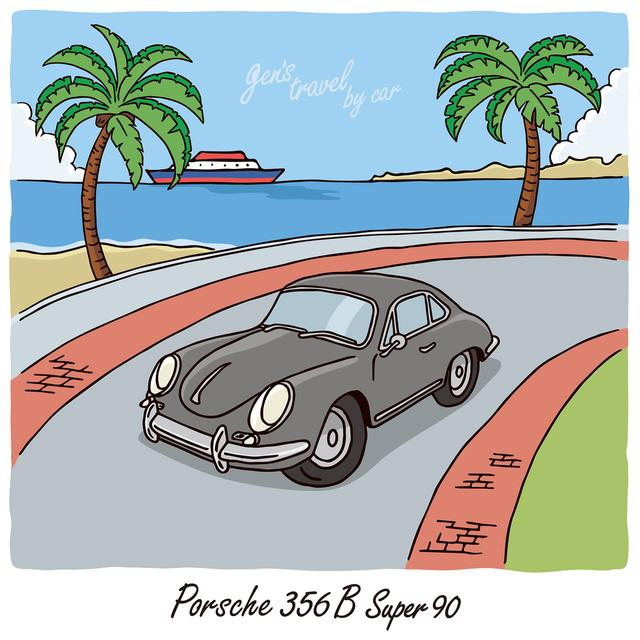 画像: 【gen's travel by car】Porsche 356B