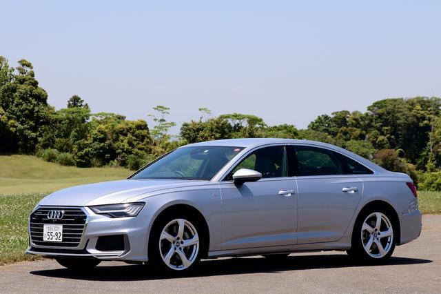画像1: 【ミニ試乗記】Audi A6 55 TFSI quattro S line