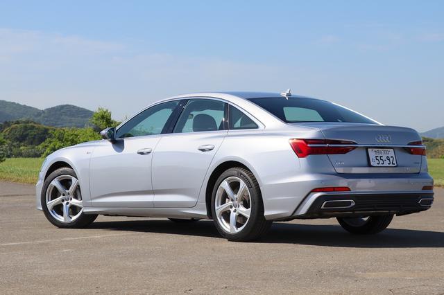 画像4: 【ミニ試乗記】Audi A6 55 TFSI quattro S line