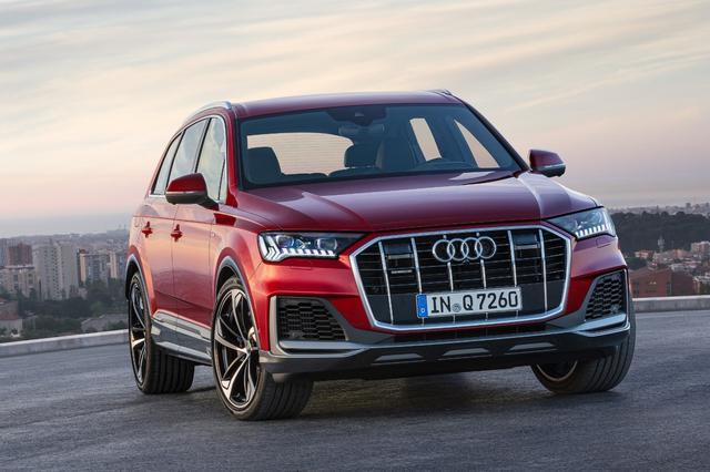 画像1: 「Audi Q7」がマイナーチェンジ