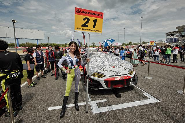 画像2: 【SUPER GT Rd.4 TAILAND】Hitotsuyama Audi R8 LMSは13位完走