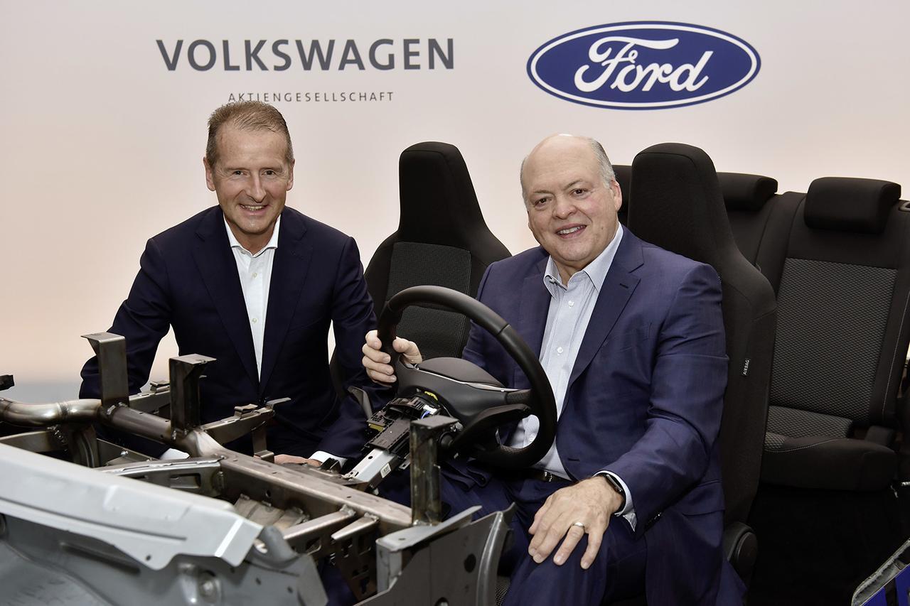 画像1: VWとフォードが自動運転と電動化で協力