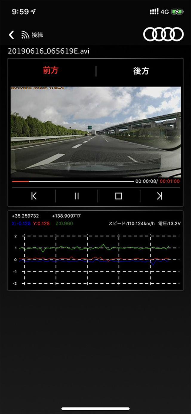 画像12: 【PR】Audi ユニバーサルトラフィックレコーダー体験記