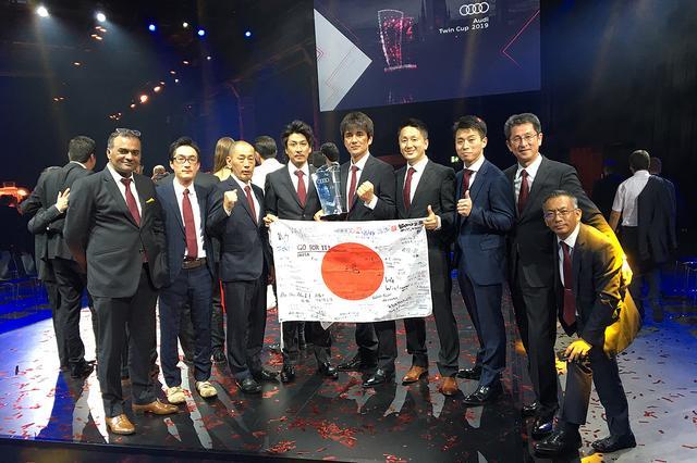 画像: Audi Twin Cup世界大会で日本代表が総合優勝!