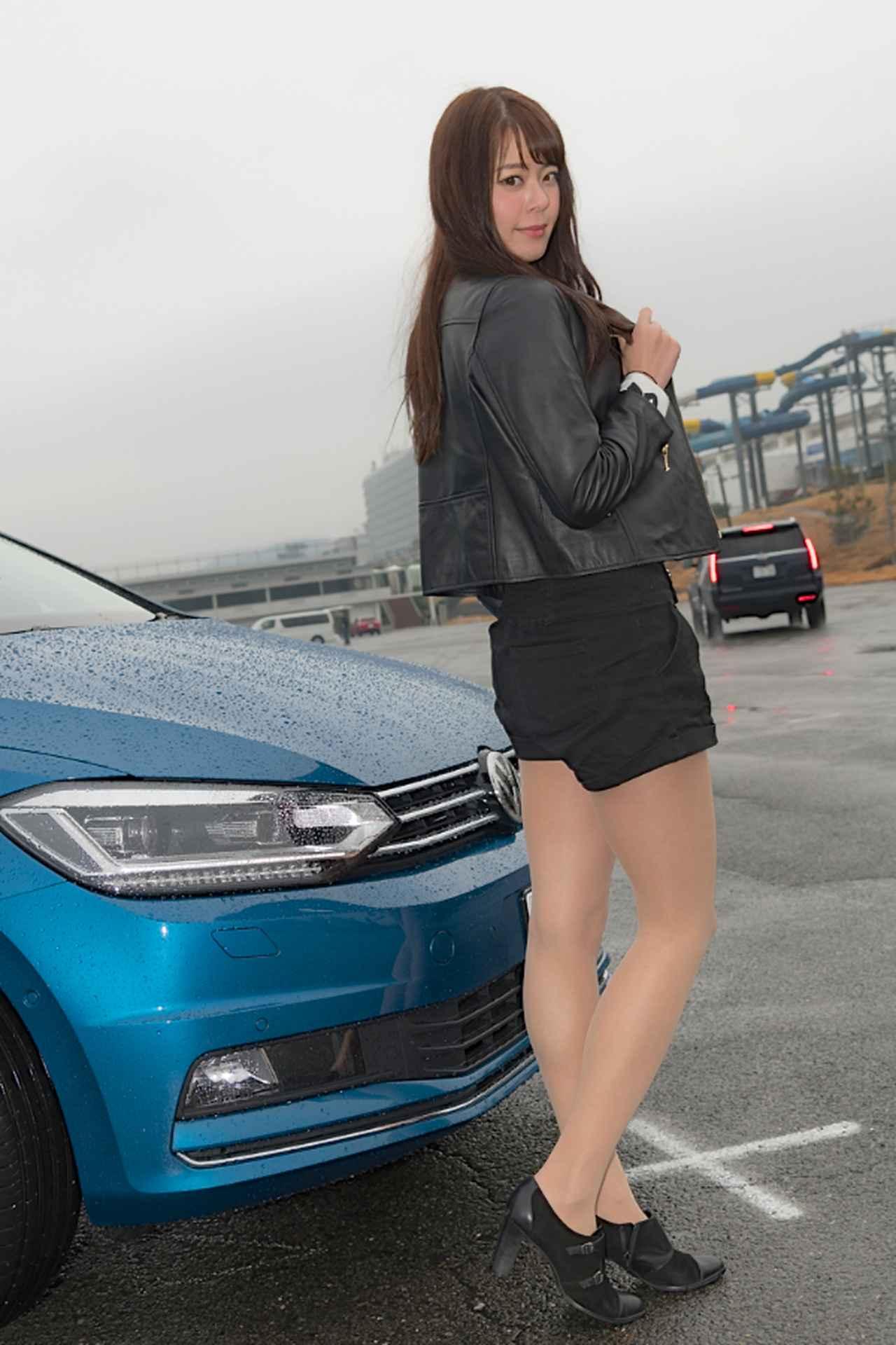 画像3: 【GPS presentsドイツ車女子】第1回 羽瀬 萌×ゴルフ トゥーラン