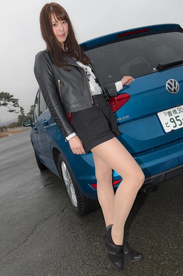 画像1: 【GPS presentsドイツ車女子】第1回 羽瀬 萌×ゴルフ トゥーラン