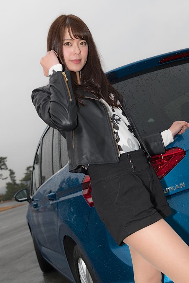 画像2: 【GPS presentsドイツ車女子】第1回 羽瀬 萌×ゴルフ トゥーラン