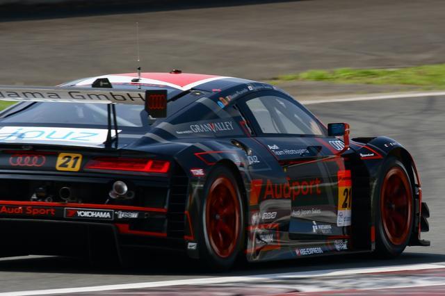 画像3: 【SUPER GT Rd.5 FUJI】Hitotsuyama Audi R8 LMSが13位完走