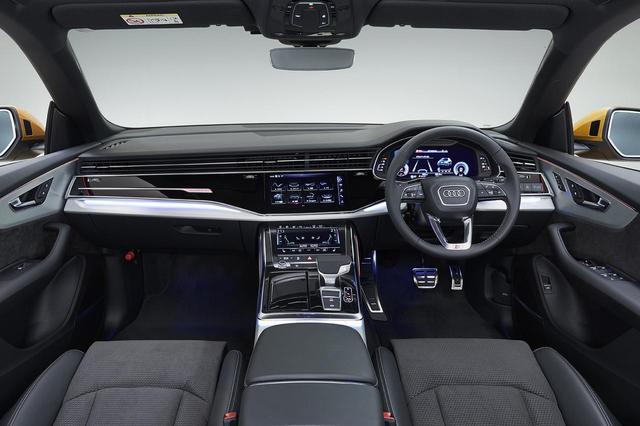 画像2: 【ミニ試乗記】Audi Q8 55 TFSI quattro debut pakage S line