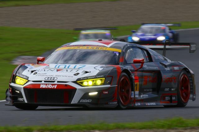 画像1: 【SUPER GT Rd.6 AUTOPOLIS】Audi Team Hitotsuyamaは入賞を逃す