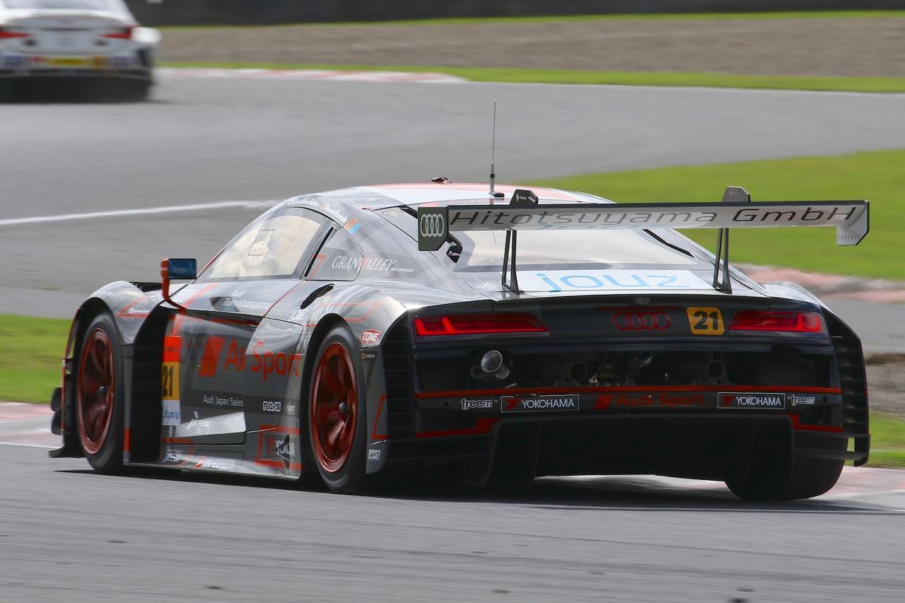 画像4: 【SUPER GT Rd.6 AUTOPOLIS】Audi Team Hitotsuyamaは入賞を逃す
