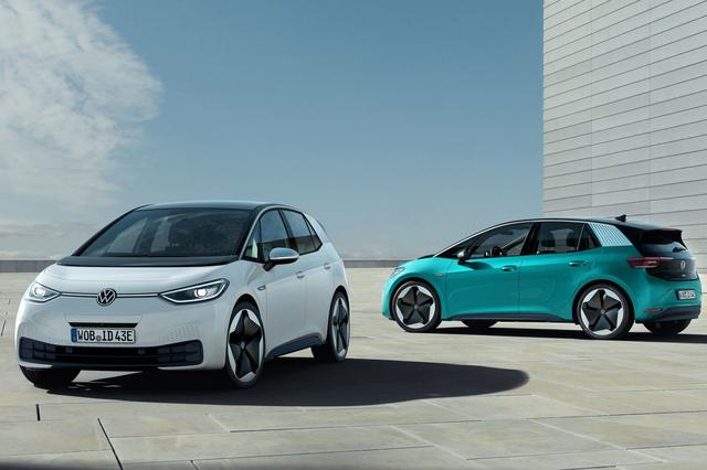 画像1: VWが電気自動車「ID.3」を発表