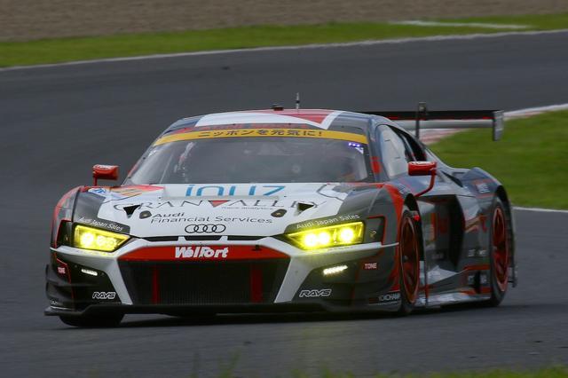 画像2: 【SUPER GT Rd.6 AUTOPOLIS】Audi Team Hitotsuyamaは入賞を逃す