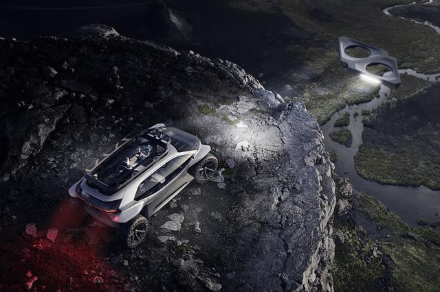 画像6: フランクフルトショーで「Audi AI:TRAIL quattro」を公開